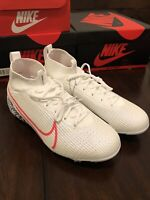 Nike Jr. Mercurial Superfly VII Elite DF Soccer Cleats AT8034-160 Size 4Y White