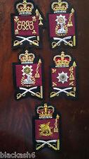 Grenadier Coldstream Scots Irish Welsh Guards WO2 Rank Insignia Full Set