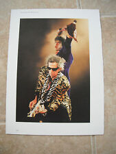 Rolling Stones Keith Richards Vtg Candid Coffee Table Book Photo #7
