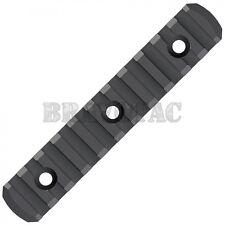 Magpul MAG593-BLK M-LOK Adapter 11-Slot Picatinny Polymer Rail Section +Hardware