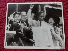 Sugar Ray Robinson press photo