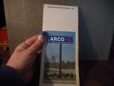 Vintage Arco Map Ontario Quebec