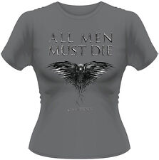 Game Of Thrones - All Men Must Die T-Shirt Femme / Woman - Taille / Size M