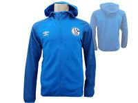 Umbro FC Schalke 04 Kapuzenjacke blau S04 Hoody Fan Jacke Bundesliga Gr.S - XXL