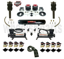 Air Ride Suspension Kit VW Mk5 MK6 Volkswagen Front Strut Slam Rear Airbags 1/2