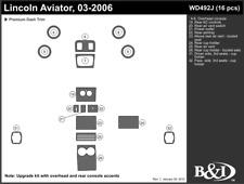 LINCOLN AVIATOR 2003 2004 2005 2006 DASH TRIM KIT j