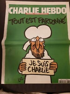CHARLIE HEBDO NEWSPAPER MAGAZINE No. 1178 14 JAN 2015 JE SUIS CHARLIE NEW