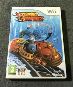 Wii - Turbo Trainz - Same Day Dispatched - Boxed - VGC - Nintendo
