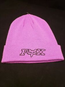 FOX Racing Girls/Womens OG Beanie - Neon Lilac/Purple - NWOT