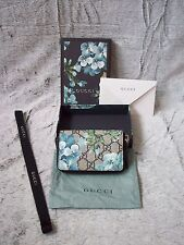 Genuine Gucci GG Blue Blooms Wallet New!!!