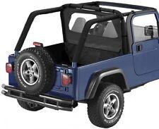 Jeep Wrangler Tj Wind Deflector Windjammer Black Diamond Bestop 03-06