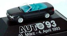 "car 1/87 HERPA AUDI CABRIO (B3) MET BLACK 1991 ""AUTO,93"" -ver/see-"