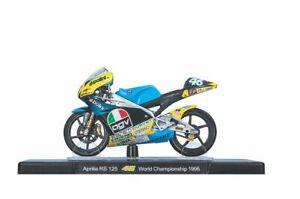 VALENTINO ROSSI Aprilia RS 125 1996 MotoGP Bike - Collectable Model - 1:18 Scale