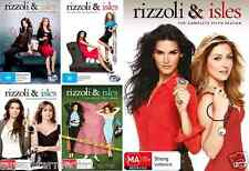 Rizzoli And Isles Season 1 2 3 4 5 : NEW DVD