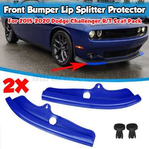For Dodge Challenger R/T Scat Pack 15-2020 Front Lower Bumper Splitter Protector
