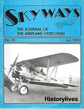 Skyways Ju 91 Bugatti 100 Douglas O-2 Monocoupe Boeing Pursuits Kreider Wibault