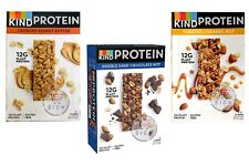 3 TYPES OF KIND SNACKS PROTEIN BAR CHOCOLATE NUT 50g PACKS Toasted Caramel Nut