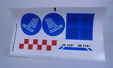 LEGO® City 1x Sticker Aufkleber Bogen für Passagier Flugzeug 3181 Neu New ANA