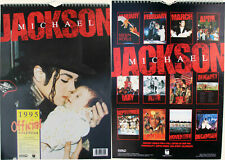 Michael Jackson Calendrier 1995 Calendar Kalender Poster Posters OFFICIAL