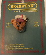 "Boyds Bear And Friends ""Homer"" Baseball Bearwear Resin Pin 1994"