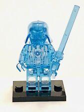 Clear Blue Darth Vader Custom Lego* Figure #51