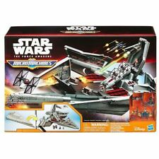 Star Wars The Force Awakens MicroMachines First Order Star Destroyer Playset NEW