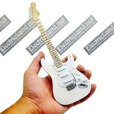 Mini Guitar scale 1:4 JIMI HENDRIX olympic white miniature gadget collectible