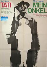 3 antike Kinoposter MON ONCLE Jacques Tati, Artwork: Karl Oskar Blase Atlas-Film