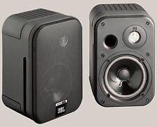 2 JBL Control One Regal Lautsprecher (Schwarz) NEU Fachhandel