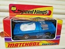 Lesney Matchbox 1972 King Size Speed Kings K36A Bandolero Clear Window NuMintBxd