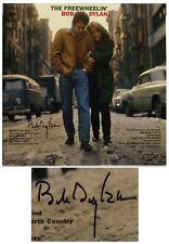 Bob Dylan Signed Vinyl Record The Freewheelin w COA