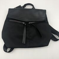 Botkier New York Trigger Backpack Black FFF Nylon Faux Leather