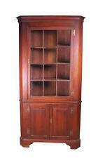 New listing Henkel Harris Cherry Corner Cabinet