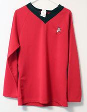 Star Trek TOS Uniform Adult Classic Shirt Original Series Costume Rubies Size L