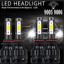 9006+9005 Hi Low Beam LED Headlight Kit for Honda Accord 90-2012 Civic 2004-2015