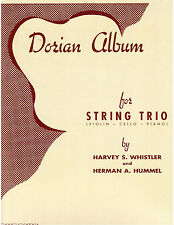Dorian Album for String Trio (Violin, Cello and Piano)