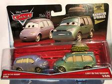 NIP Disney Pixar Cars Lost in the Desert Mini & Van Radiator Springs16 & 17/19