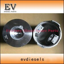 For Kubota engine excavator V4000 piston and pin and piston ring set