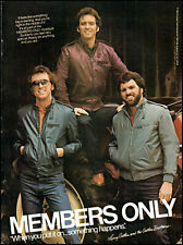 1983 Larry Gatlin & Gatlin Brothers Members Only vintage photo print ad ads49