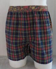 Ed Hardy Men's CVC Boxer Button Fly Shorts Color Navy Size M 32-34 New