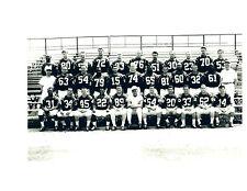 1961 BOSTON PATRIOTS AFL 8X10 TEAM PHOTO CAPPELLETTI  FOOTBALL HOF USA