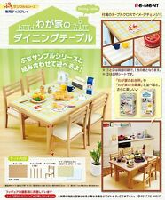 Re-Ment Miniature Dining Table and Chairs set
