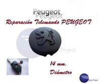 Boton Llave Peugeot 106 206 306 405 406 // Almohadilla Roto Goma Caucho Reparar