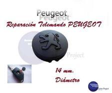 Almohadilla Llave Peugeot // Botón Roto Goma 106 206 306 405 406 Caucho Reparar