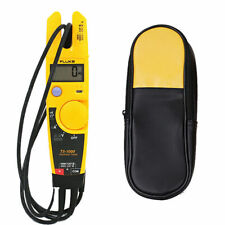 Fluke T5 1000 Voltage Current Electrical Clamp Meterampsoft Case Holster