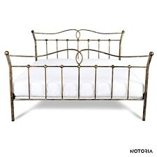 LIZA Eisenbett Metallbett Schlafzimmer Design Bett Bettgestell 140x200 cm