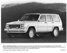 1991 Jeep Cherokee Limited Press Photo with Text 0012