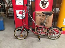 VINTAGE DAHON FOLDER BICYCLE  NEW IN BOX! + NEW STORAGE BAG! CANDY APPLE RED!