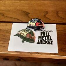 Mondo Tees, Full Metal Jacket Joker Helmet Pin Badge, Warriors, Minty, Casuals..