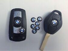 10Pcs Set Key Fob Replacement Sticker Fits: BMW 11mm 1-3-5-7-6-Z-X Logo Emblem